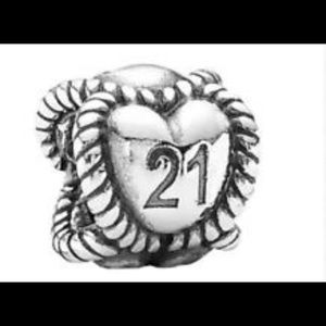 Pandora heart 21 charm